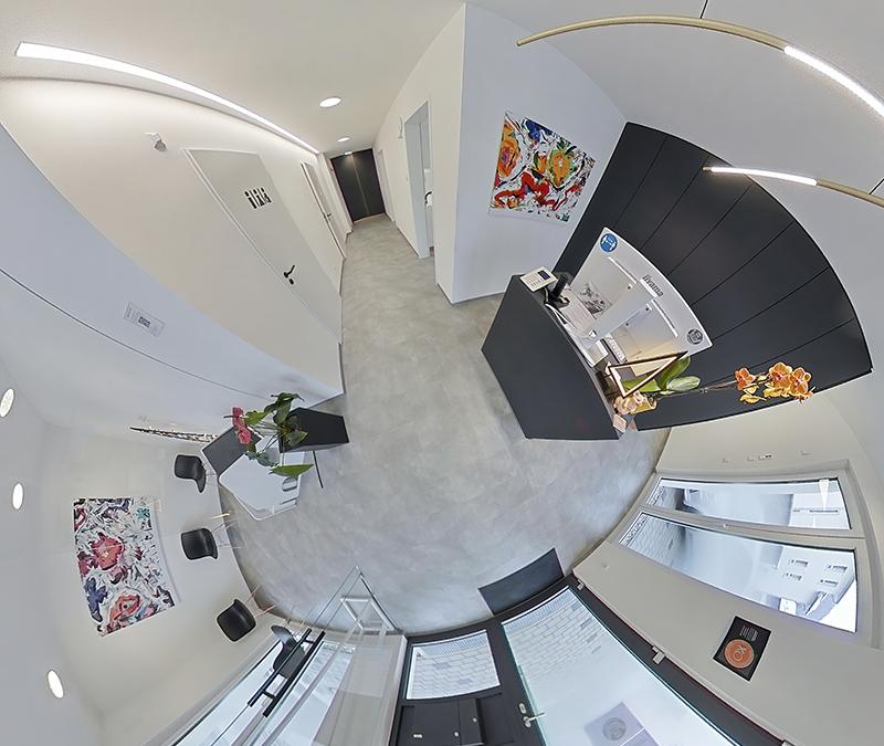 360° virtuelle Tour – Zahnarztpraxis