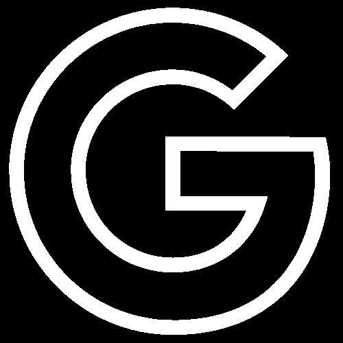 Google Logo weiß