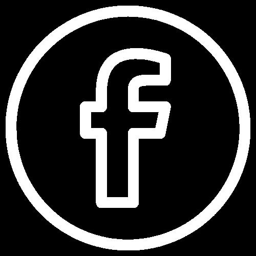Facebook Logo weiß